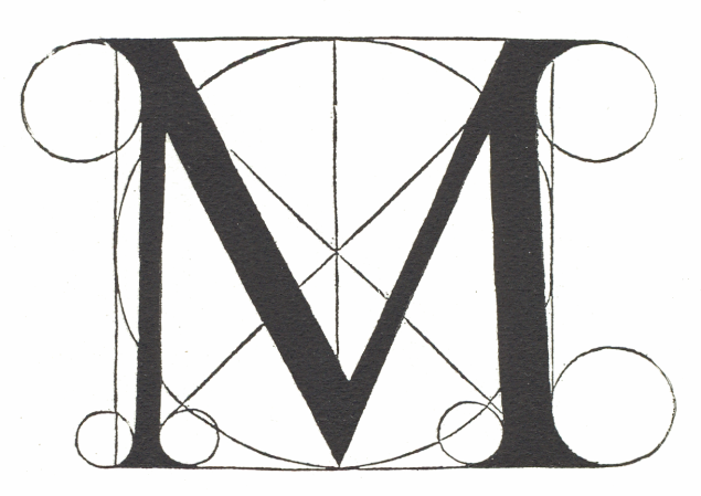 The museum's current—classic—Luca Pacioli-designed logo.