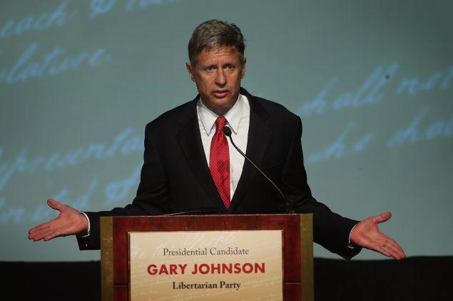 Gary Johnson.