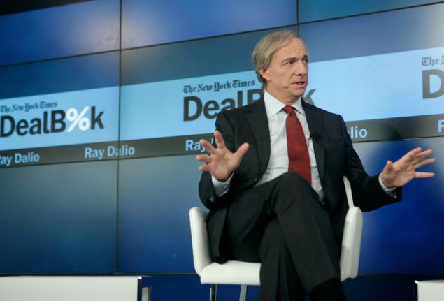 attends The New York Times DealBook Conference at One World Trade Center on December 11, 2014 in New York City.