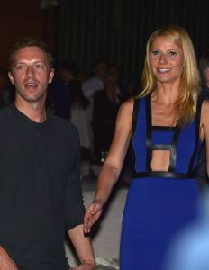 Chris Martin (L) and actress Gwyneth Paltrow prior to their divorce. (Photo Charley Gallay/Getty Images for Entertainment Industry Foundation)
