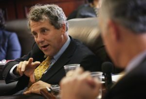 Sen. Sherrod Brown of Ohio.
