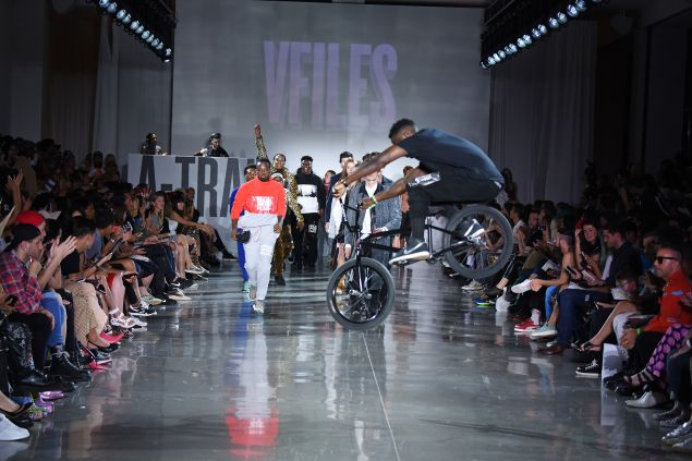 Last year's VFILES show (Photo: Albert Urso/Getty Images).