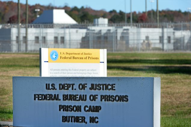 BUTNER, NC - NOVEMBER 20: The federal prison in Butner, North Carolina where Convicted Israel spy Jonathan Pollard was released from is seen on November 20, 2015 in Butner, North Carolina. Pollard, 61, spent 30 years in prison after being caught selling American intelligence secrets to Israel. The prison camp houses three levels of security on the multi-building Federal Correctional Institute campus.