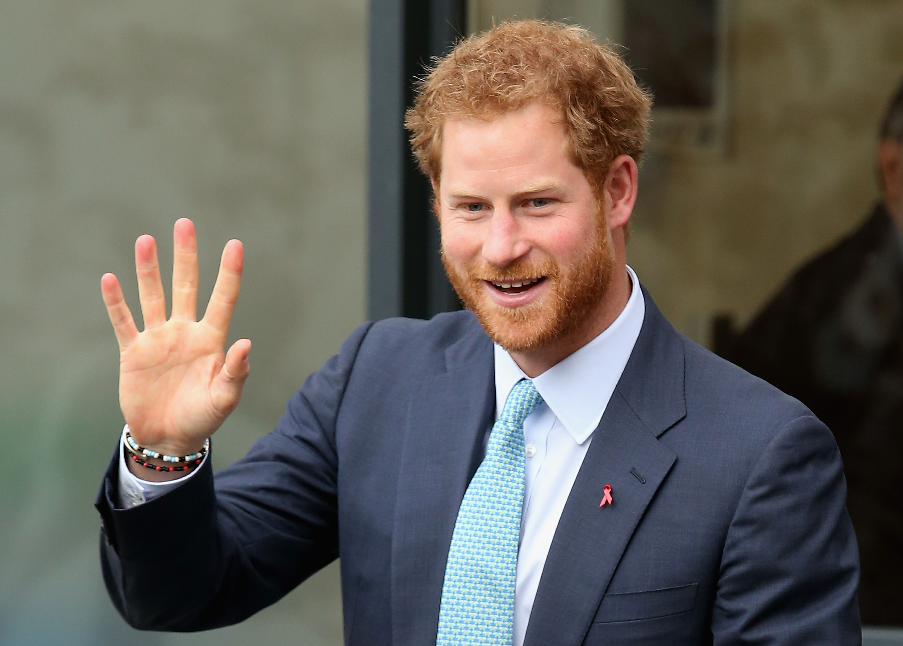 as Prince Harry makes an official visit to Mildmay, a dedicated HIV hospital, to mark the opening of the new purpose built facility at Mildmay Hospital on December 14, 2015 in London, England.