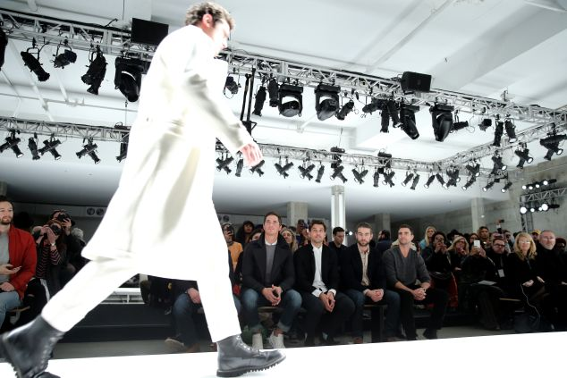 Nautica's show at NYFWM  (Photo: Neilson Barnard/Getty Images for Nautica).