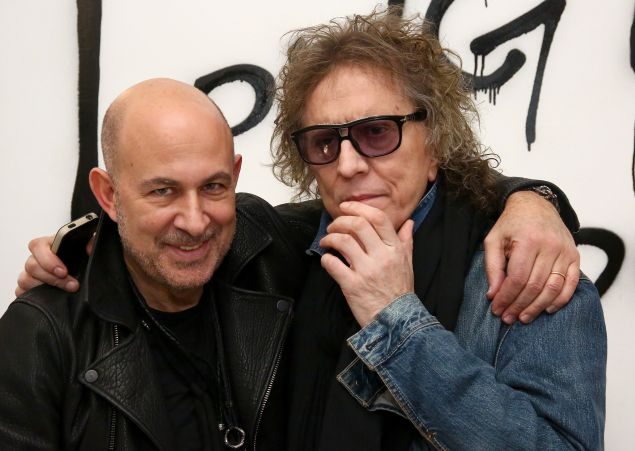 John Varvatos with Mick Rock (Photo: Getty Images).