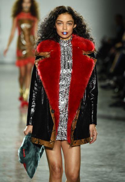 A fur design by Ms. Shui