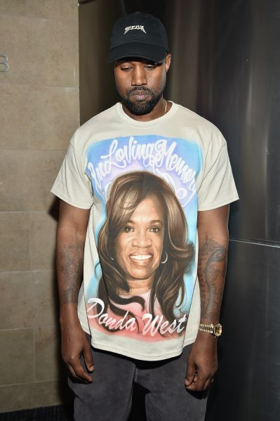Even Kanye knows that selling an airbrushed portrait of his deceased mother on a t-shirt is in bad taste... right?