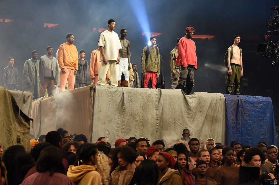 Yeezy Season 3 (Photo by Kevin Mazur/Getty Images for Yeezy Season 3).
