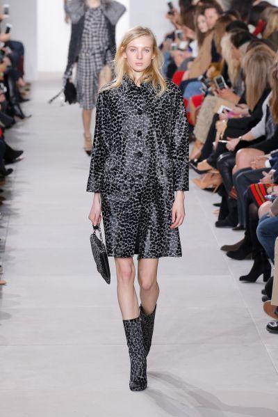 Mia Leopard Calf Hair Envelope Shoulder Bag, $1,290, MichaelKors.com