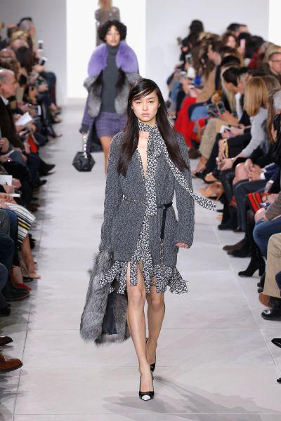 Hand-Knit Tweed Cashmere Cardigan, $2,695, MichaelKors.com