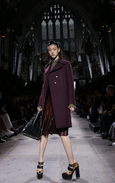 A twisted look from Mulberry