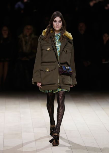 A buy-now look from Burberry