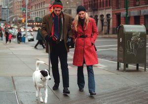 John F. Kennedy Jr. and Carolyn Bessette put the spotlight back on Tribeca for many Upper East Side residents. (Photo: Evan Agostini/Liaison)