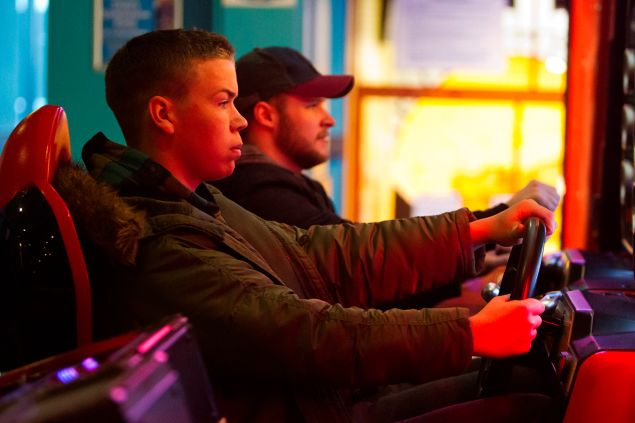 Will Poulter and Jack Raynor. (PHOTO: Courtesy Kaleidoscope Film Distribution)