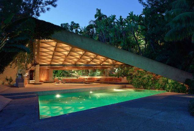 The Sheats-Goldstein residence in Beverly Crest, California.