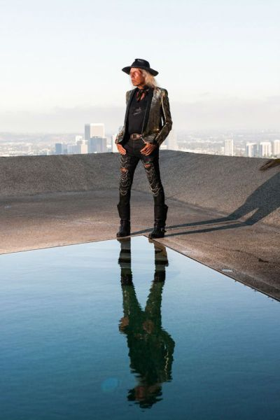 James Goldstein at his home.
