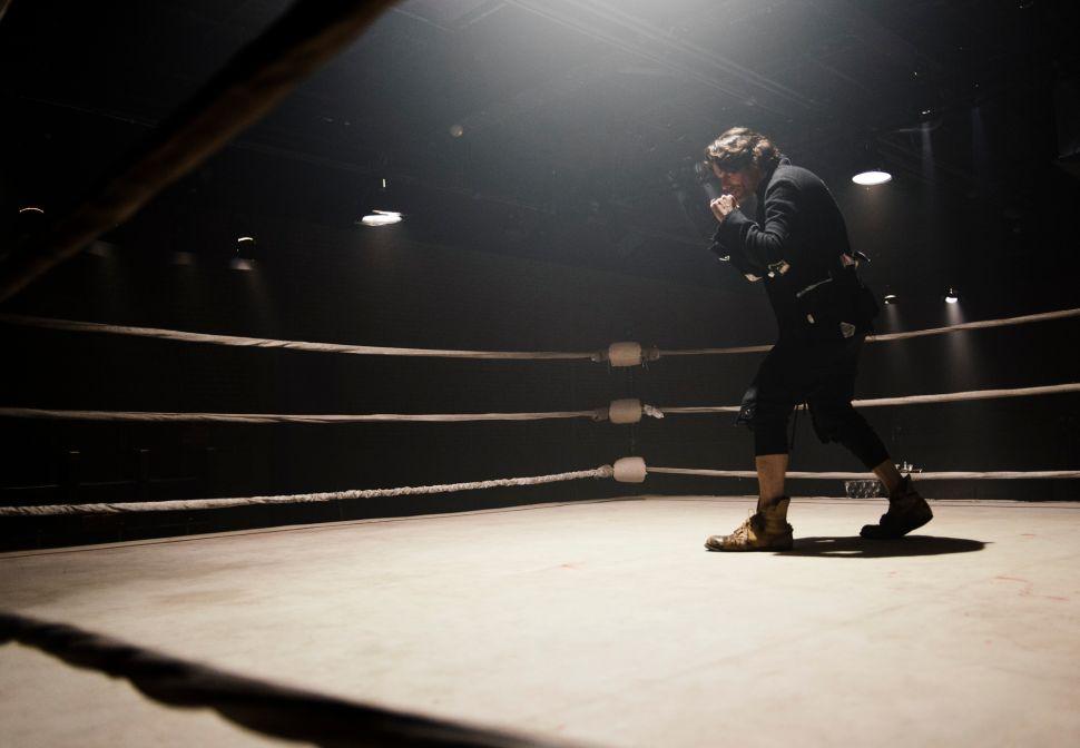Greg Lauren in his boxing ring (Photo: BFA).