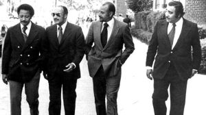 David Dinkins, Percy Sutton, Basil Paterson and Charles Rangel.