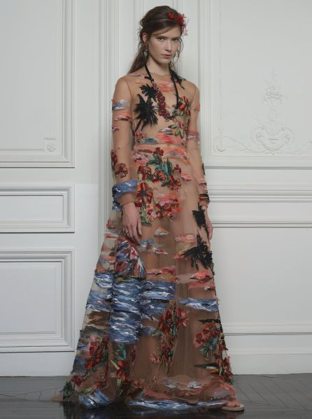 A vacation, in the form of a dress (Photo: Courtesy Valentino).