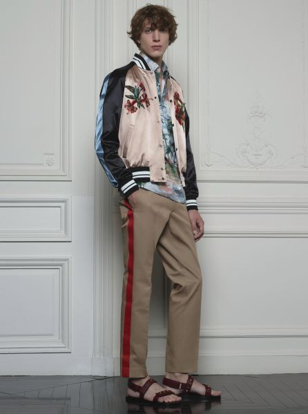 Both boys and girls will look good in this bomber jacket (Photo: Courtesy Valentino).