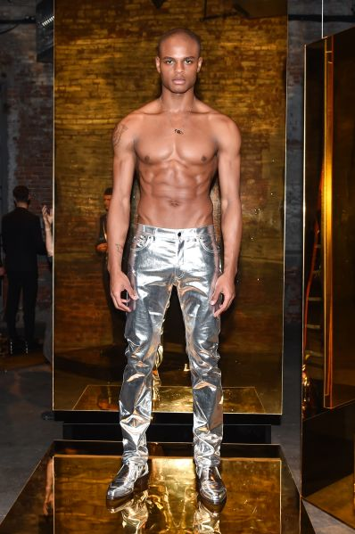 The gilded jeans of your dreams (Photo: Courtesy Calvin Klein).