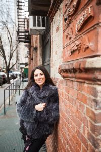 Anna Coroneo chose a converted sugar warehouse in Tribeca for her New York home. (Photo: Emily Assiran for Observer)