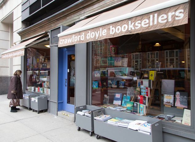 Crawford Doyle Bookstore photographed for the New York Observer on 29 January 2016. PHOTO: Kaitlyn Flannagan for Observer