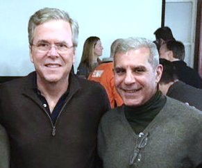 Kyrillos with former candidate Jeb Bush.