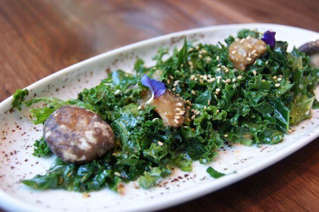 Kale salad.