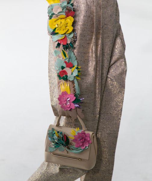 Even more floral appliqué gloves