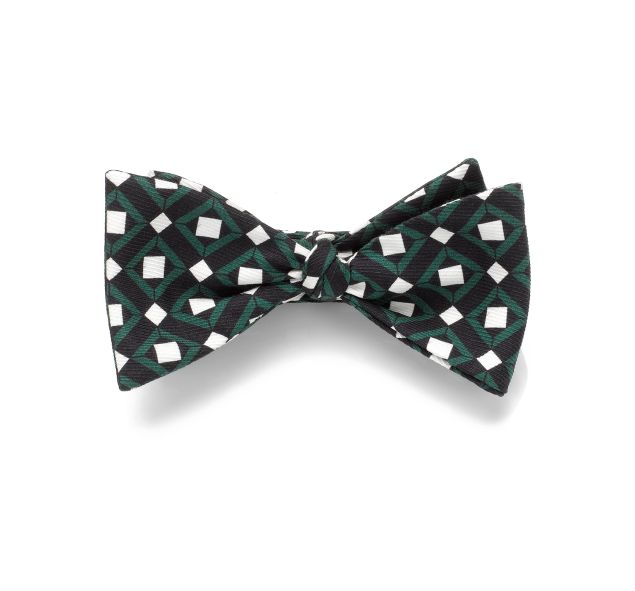 "Mark/Giusti London ""Bring Back Time"" Mosaic Bow Tie, about $73, Markgiusti.com"
