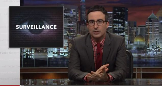 Last Week Tonight's John Oliver.