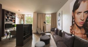 ME Milan Il Duca Personality Suite living room