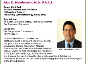 Dr. Alan Mendelsohn.