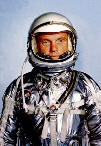 John Glenn, the first American to orbit the Earth. (Photo: Google Commons)
