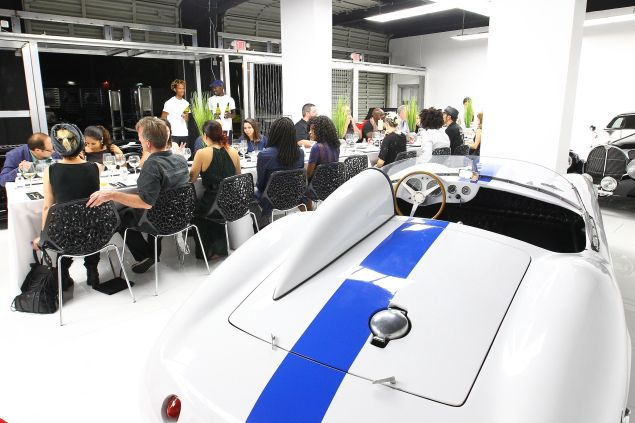 Miami Supercar Room preview dinner during Art Basel 2015.