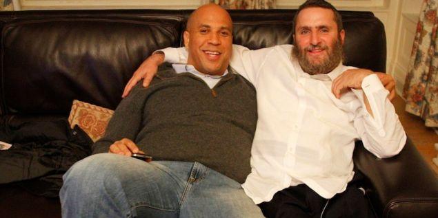Rabbi Shmuley and Cory Booker