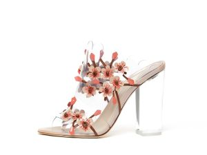 A floral encrusted shoe from Paul Andrew, with an ample amount of cushion (Photo: Courtesy Paul Andrew).