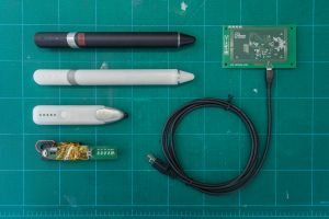 Prototypes of the pen. (Photo: Local Projects)