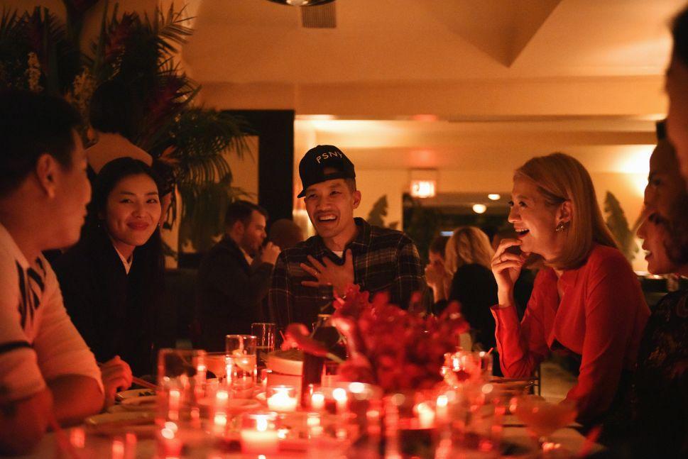 Prabal Gurung, Liu Wen, Dao-Yi Chow, Canis Chow (Photo: Hennessy).