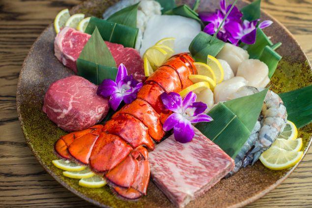 Roku's Teppanyaki Proteins.