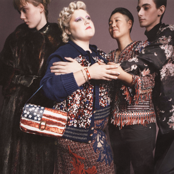 Beth Ditto stars in Marc Jacobs' latest campaign (Photo: Courtesy Marc Jacobs).