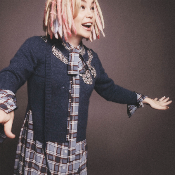Lana Wachowski steps in front of the camera for Mr. Jacobs (Photo: Courtesy Marc Jacobs).