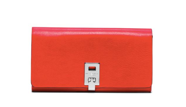 Michael Kors Miranda Leather Continental Wallet, $395, Michaelkors.com (Photo: Courtesy Michael Kors)