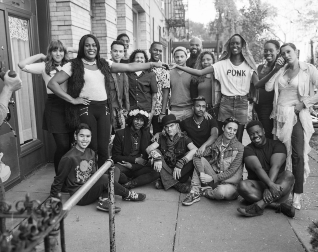 Mya Taylor of 'Tangerine', Ladyfag and members of The Lesbian, Gay, Bisexual & Transgender Community Center (Photo: Courtesy Barneys New York).