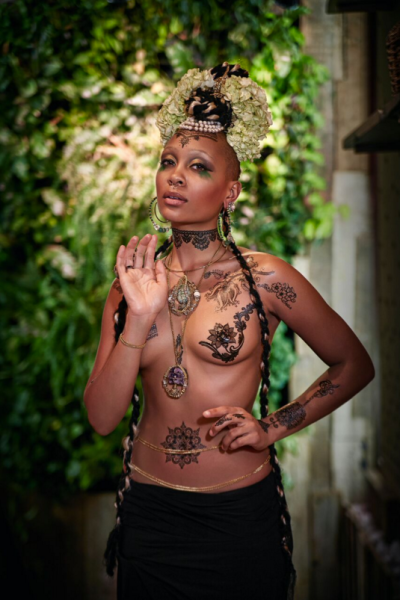 Tribal tats? Why not (Photo: Courtesy The Month of Love).