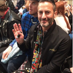 Marc Jacobs at Fashion East