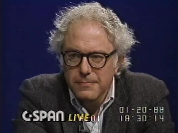 Bernie Sanders circa 1988.