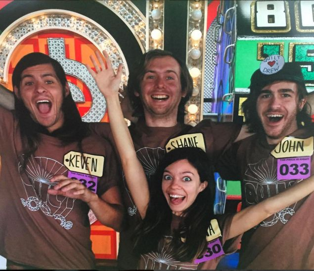 Though Quilt wasn't selected to take the stage on The Price is Right, they still had a blast.